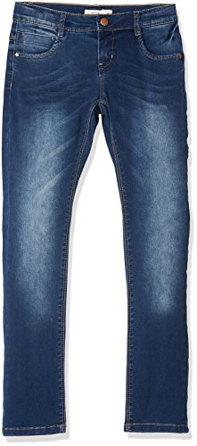 NAME IT NAME IT Mädchen NKFROSE DNMTATIANA 3002 Pant NOOS Jeans, Blau (Dark Blue Denim), 122