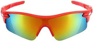 MANW Lunettes de soleil pour hommes lunettes de cyclisme cyclisme sports lunettes de plein air lunettes de soleil-K