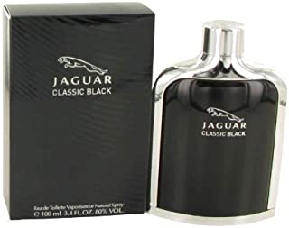 Jaguar Classic Black men cologne by Jaguar Eau De Toilette Spray 3.4 oz by Jaguar