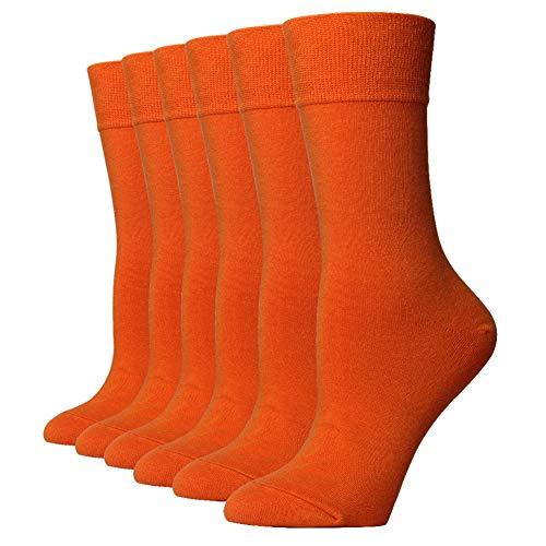 Ezsox 6 paia di calzini da uomo a fantasia colorata a strisce 42 43 44 45 46 strisce dolci qualit/à europea