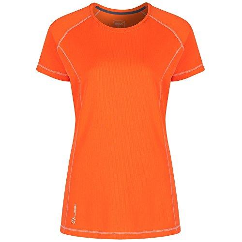 Regatta Virda T-Shirt Femme, Citrouille, Taille 38