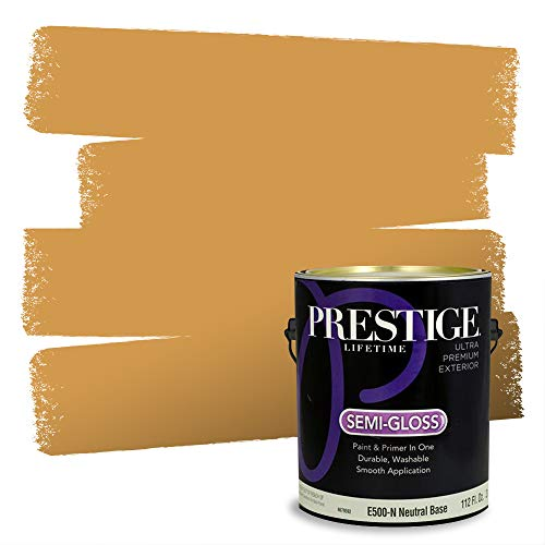 Prestige Exterior Paint and Primer in One, On Deck, Semi-Gloss, 1 Gallon