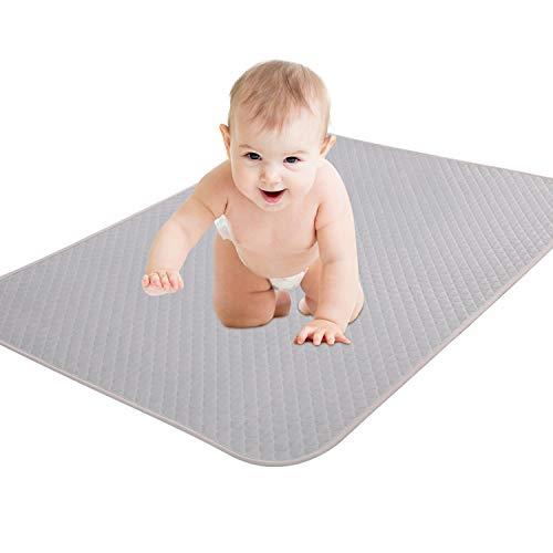KEAFOLS Inkontinenzauflage Waschbar Baby Matratzenauflage Wasserdicht 70x140 / 70x100 / 75x90 cm Matratzenschoner atmungsaktive Wickelauflage Wickelunterlage für Kinder Erwachsene Haustier
