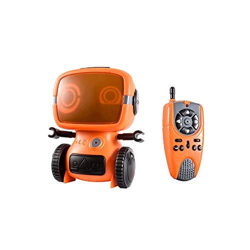 DEORBOB Robot de intercomunicador Remoto, Robots de Control Remoto con detección de Gestos interactivos Que Hablan, Avance, Retroceso, Giro a la Izquierda y Derecha, demostración automática de Baile,