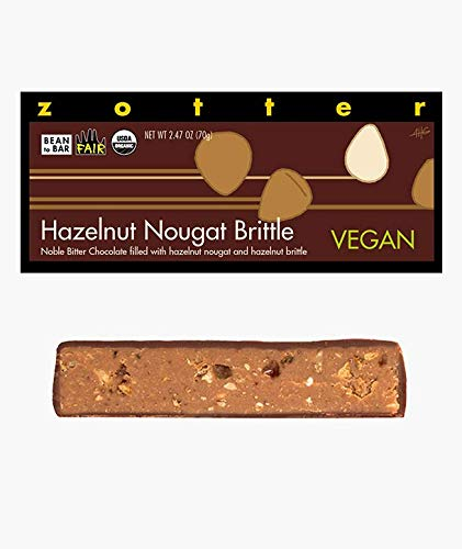 Zotter Handgeschöpfte Schokolade Haselnussnougat Krokant 70 g