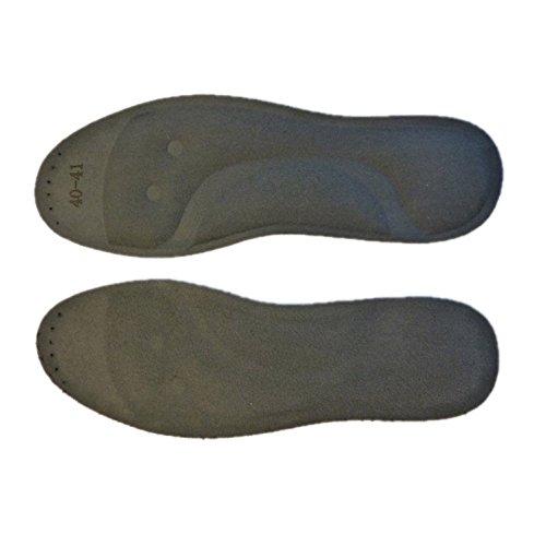 Massagesohle Einlegesohlen Wassersohlen Fersensporn passt in jeden Schuh Größe 46/47, schwarz