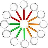L+H 12x Lupen Set Kinder gemischte Farben| Lupe f. Forscher & Detektive zum erforschen von Insekten Pflanzen usw. | Taschenlupe als Mitgebsel Mitbringsel Gastgeschenk Giveaways zum Kindergeburtstag -