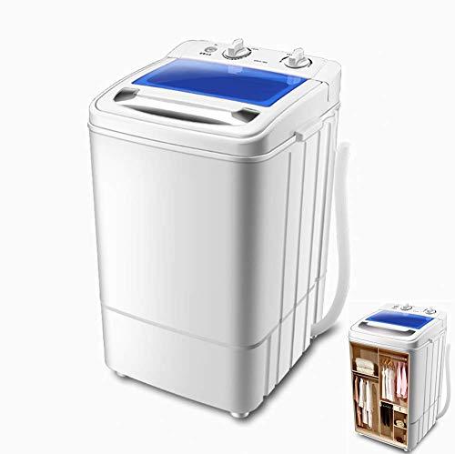 WCY 2 en 1 Lavado Máquina portátil Compacto Lavadora Secadora de apartamento, Hotel, Dormitorio 5.6kg Capacidad Total yqaae