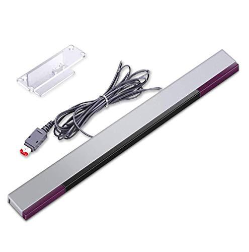 Wii Sensor Bar,Wii Sensorleiste für Wii/Wii U,6amLifestyle Infrarot-Sensorleiste für NS Wii und Wii U Konsole