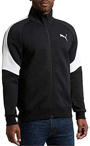 PUMA Men's Evostripe Track Jacket (Black, Medium)