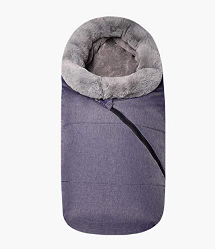 Babyslaapzak winter-enveloppen voor pasgeborenen slaap thermische zak katoen kinderslaapzak in de koet