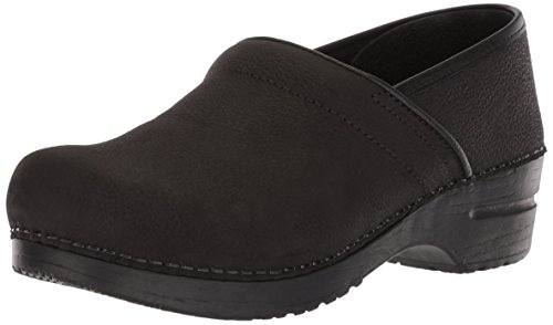 Sanita Professional Oil, Sabot Donna, Pelle/Gomma, Nero (Black 2), 40
