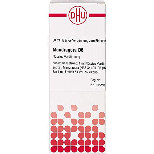 DHU Mandragora D6 Dilution, 50 ml Lösung