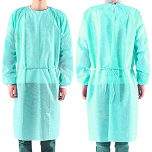 Taidallo 10 stks/set Wegwerp Bandage Coveralls Chirurgische Jurk Stofdichte Isolatie Kleding Arbeid Pak Niet-geweven Beveiliging Kleding