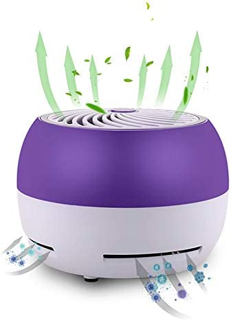 KIISIISO Air Purifier HEPA Cleaner Washable Reusable Filter Double Decomposition Fresh Air Designed product image