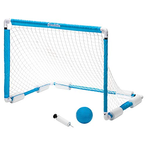 """Franklin Sports Water Polo Goal - Floating Goal - Perfect for The Pool - Large 40"""" x 30"""" Goal with Ball"""