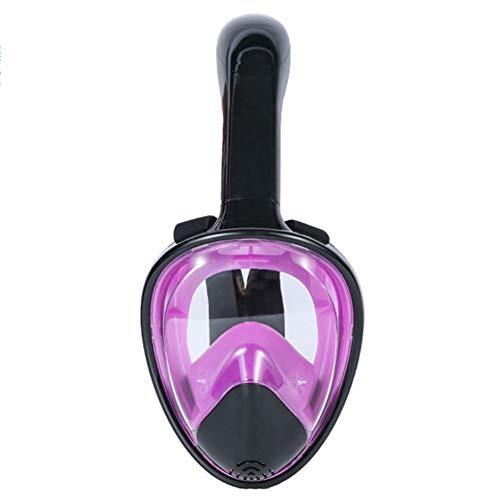 180 ° zeezicht Gemakkelijke ademhaling Snorkelmaskers voor volwassenen of kinderen Anti-condens Anti-lek Veiligheidsduiken,Z,S