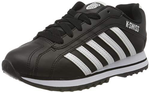 K-Swiss Damen Verstad 2000 S Sneaker, Black/White, 36 EU