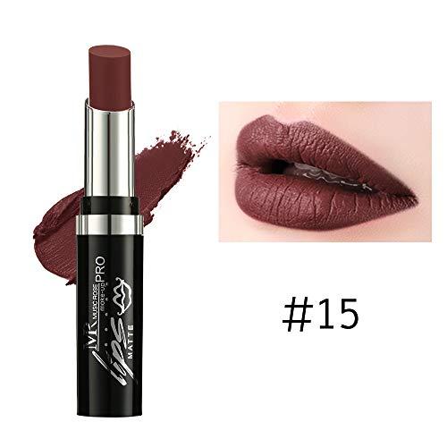 Vaycally Neue Make-up, 24 Farben wasserdichte Langlebige Matte Lippenstift Schönheit Make-Up...