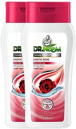 Dr. Neem Exotic Rose Shower Gel-(2 x 250ml) OFFER PACKS