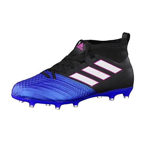 adidas Ace 17.1 Fg J, Botas de Fútbol Unisex Niños, Negro (Negbas/ftwbla/azul), 36 2/3 EU