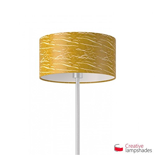 Creative lampshades lampenkap cilinder persiengold metaal Amerikaans F10 Durchmesser 35cm - H. 22cm