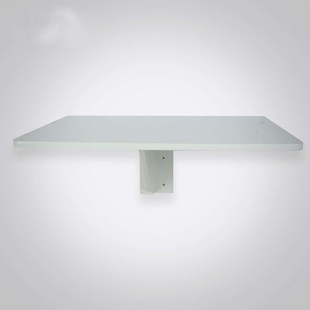 SHLDDZ Mesa de Pared Mesa de Pared Plegable Mesa de caída de Pared Mesa Plegable Mesa de Comedor Ahorro de Espacio Pliegue Convertible Escritorio (Color : White, Size : 60 * 40cm): Amazon.es: Hogar