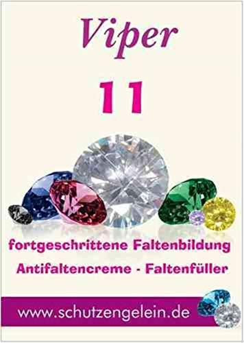 Viper 11, Faltenfüller Feuchtigkeitscreme Botox like Creme, daycream nightcream Hyaluronsäure hochdosiert