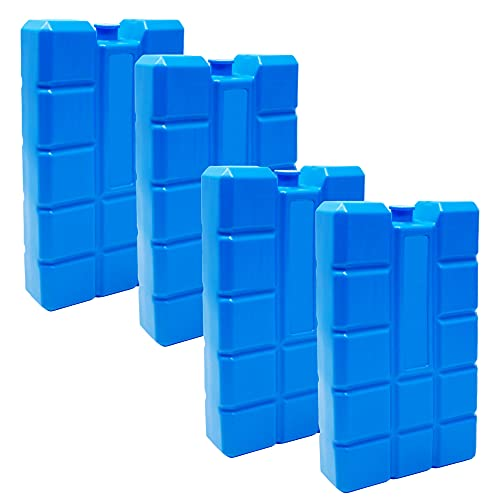 ToCi Garten Accumulatore a freddo o impacchi di ghiaccio a lungo termine e 4 elementi di raffreddamento 400 ml
