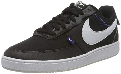Nike Herren Vision LO Prem Sneaker, Schwarz (Black/White-Photon Dust-Court 001), 43 EU