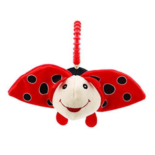 Meiyiu Baby Toy Animal Design 0-2 años de Edad Cochecito de bebé y Colgantes de Cama Colgante Toy Escarabajo 15cm