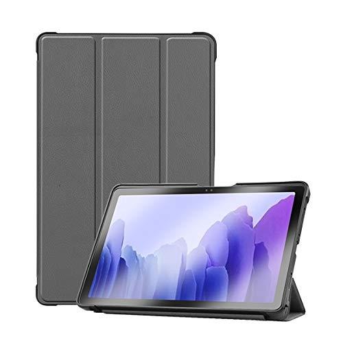 QiuKui Tab Funda para Samsung Galaxy Tab A7 10.4 SM-T500 T505 T507, Funda de TPU Suave Cubierta magnética de Silicona para la pestaña Galaxy A 10.4 2020 (Color : Gris)
