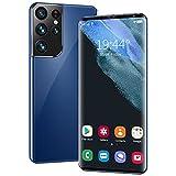 S28Pro + Global versión 5G Smartphone 6.1'16 + 512GB Dual Sim AndRiod11.0 Teléfono móvil Deca Core 6000mAh Smart Phone,Azul
