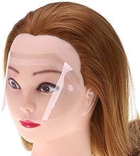 SUPVOX Maschera Trasparente Protezioni per Occhi Copertura Viso Parrucchiere 100pcs