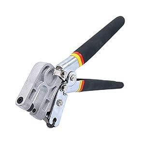 à tige Pince à sertir Pince en métal Punch Lock Planche à cloison sèche Outil à Main d'une seule main Keel