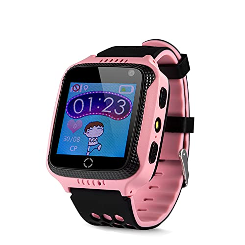 Sekyo Magic Pro GPS Smartwatch, Location Tracker, Voice Call, Camera, Remote Monitoring, Voice Chat GPS Smartwatch for Kids, Girls, Boys