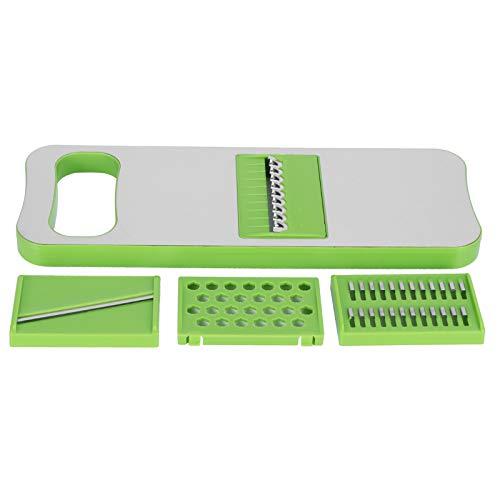 zhoul Rallador Manual de alimentos vegetales de acero inoxidable de 262g/9,2 oz trituradora de patatas multifuncional accesorios de cocina para el hogar suministros