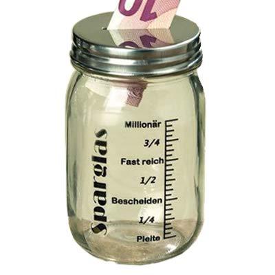 Boltze Spardose Sparbüchse Vorratsglas Millionär Fast Reich 13 cm Geschenk