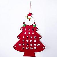 Grande regalo per i bambini a contare l' avvento di Natale Aumento Festival atmosfera e portare più divertimento per la famiglia Grande pezzo al vostro arredamento vacanza. Modo Perfetto Per rallegrare i giorni prima di Natale. Se avete i bambini o n...