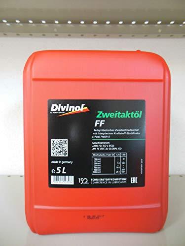 Divinol Zweitaktöl FF 1x5 Liter 2-Taktöl teilsynthetisch 2T Mischöl