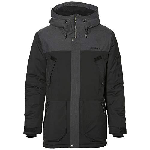 O'Neill Herren Snowboard Jacke Hybrid Explorer Parka Jacket, Black Out, M