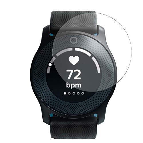 Vaxson Protector de Pantalla de Cristal Templado, compatible con Philips Health Hybrid Watch, 3 Unidades 9H Film Screen Protector