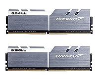 g。スキルF4-4266 C19d-16gtzswトライデントZシリーズ16 GB(8 x 2 Gb)デュアルチャンネルメモリーキット - argento