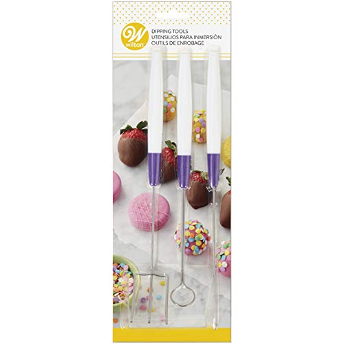 Wilton Candy Melts Candy Dipping Tool Set, 3-Piece