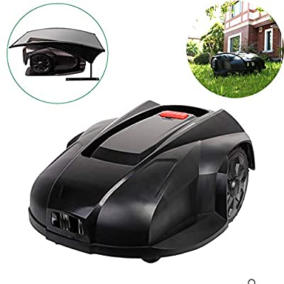 ZDYLM-Y Robotic Lawn Mower with Rain Sensor and Safety Shut-Off, Intelligent Automatic Automower, Auto Recharge, Robot Grass Cutter Garden Tool
