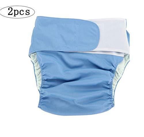 Wiederverwendbare Stoffwindelnf/ür Erwachsene Alte Leute Waschbar Cotton Mann Frau Can Wash F/ür Inkontinenz-Versorgung Dual-Opening