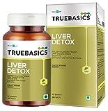 TrueBasics Liver Detox - Milk Thistle Extract (Silybin) with Dandelion & Vitamin E