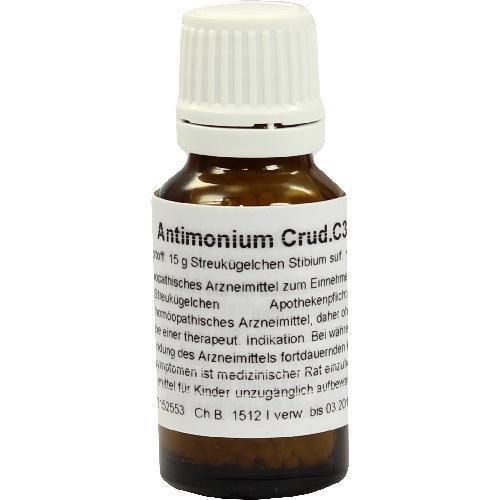 ANTIMONIUM CRUDUM C 30 Globuli 15 g