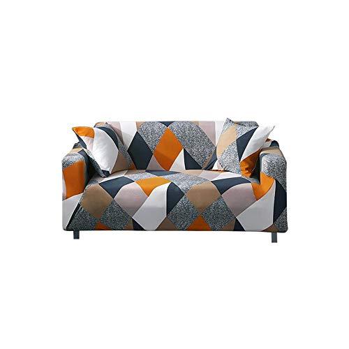 yestter - Funda de sofá Cama con Cierre de Clic clac para Cubrir Completamente el sofá sin reposabrazos, Extensible elástica, extraíble, protección para sofá en 2 Colores