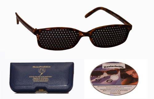 Rasterbrille IMG - der neue Hit - Classic im zeitlosen Design incl. CD zum Augentraining